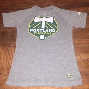 Portland Timbers Girls Soccer Club Tee T-Shirt ⚽️